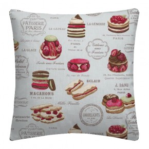 Clarke and Clarke Sketchbook Patisserie Duckegg Cushion Covers