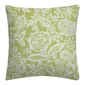 Clarke and Clarke Genevieve Polly Sage Cushion Covers
