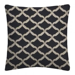 Clarke and Clarke Imperiale Reggio Ebony Cushion Covers