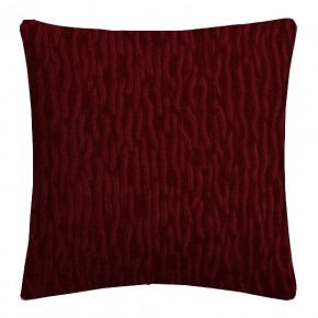 Prestigious Textiles Atrium Ripple Cardinal Cushion Covers