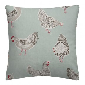 Clarke and Clarke Sketchbook Rooster Duckegg Cushion Covers