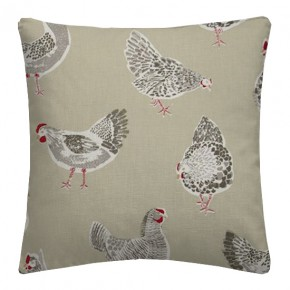 Clarke and Clarke Sketchbook Rooster Sage Cushion Covers