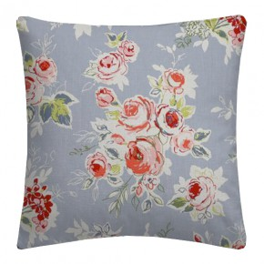 Clarke and Clarke Garden Party Rose Garden Chambray Cushion Covers