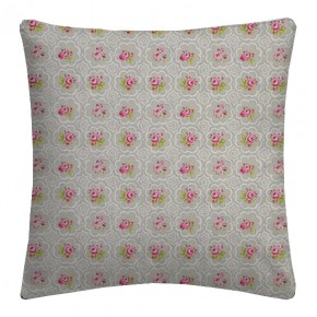 Clarke and Clarke Garden Party Rose Tile Pebble Cushion Covers