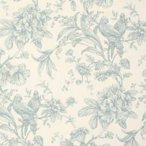 Clarke and Clarke Fougeres Provence Duckegg Curtain Fabric