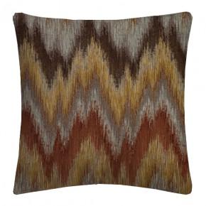 Prestigious Textiles Iona Santorini Umber Cushion Covers
