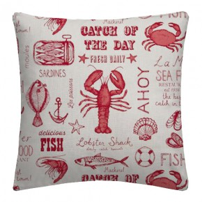 Seafood_Red_Cushion