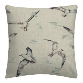 Clarke and Clarke Countryside Seagulls Linen Cushion Covers