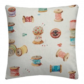 A Village Life  Sewing Cream  Cushion CoA Vers