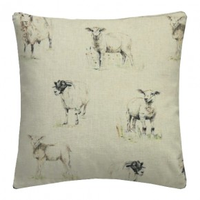 Clarke and Clarke Countryside Sheep Linen Cushion Covers