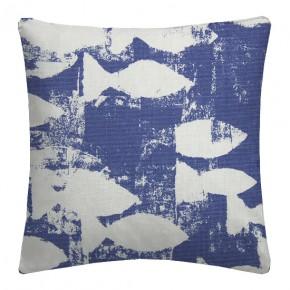 Prestigious Textiles Pickle Shoal Indigo Cushion Covers