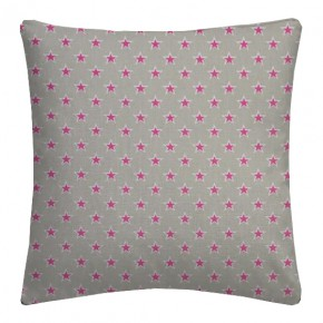 Clarke and Clarke Garden Party Shooting Stars Raspberry Cushion Covers