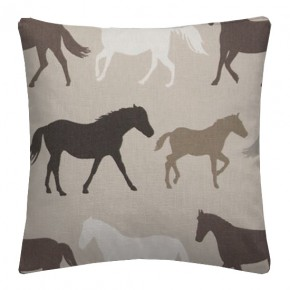 Clarke and Clarke Sketchbook Stampede Linen Cushion Covers