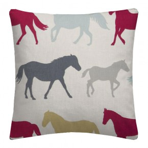 Clarke and Clarke Sketchbook Stampede Multi Cushion Covers