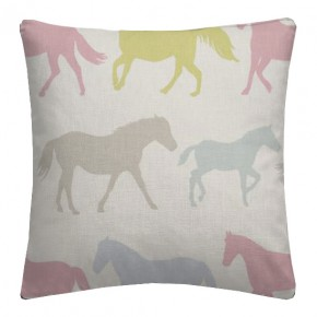 Clarke and Clarke Sketchbook Stampede Sorbet Cushion Covers