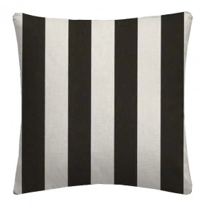 Clarke and Clarke Chateau St James Stripe Noir Cushion Covers