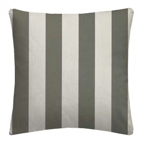 Clarke and Clarke Chateau St James Stripe Smoke Cushion Covers