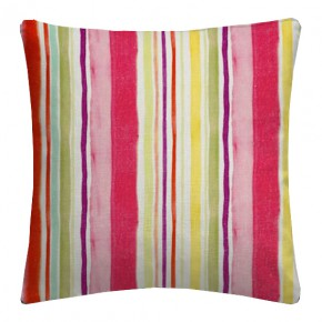 Clarke and Clarke Artbook Sunrise Stripe Linen Multi Cushion Covers