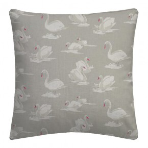 Clarke and Clarke Garden Party Swans Pebble Cushion Covers