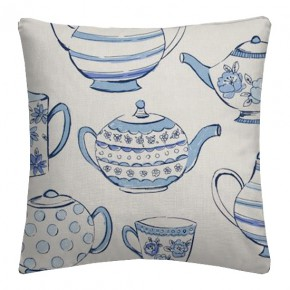 Clarke and Clarke Blighty Teatime Blue Cushion Covers