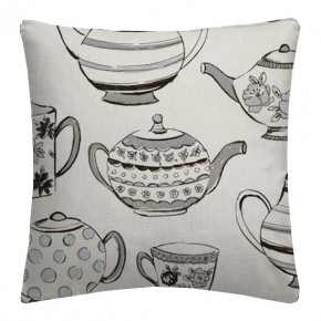 Clarke and Clarke Blighty Teatime Charcoal Cushion Covers