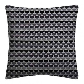 Prestigious Textiles Annika Ulrika Graphite Cushion Covers
