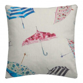 A Village Life  Umbrellas  Cream  Cushion CoA Vers