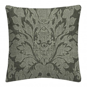Clarke and Clarke  Colony Valentina Charcoal Cushion Covers