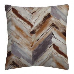 Prestigious Textiles Iona Vito Umber Cushion Covers