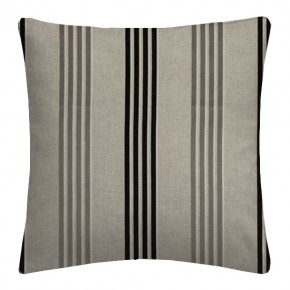 Clarke and Clarke Richmond Wensley Charcoal Cushion Covers