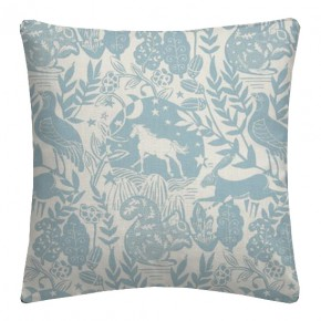 Clarke and Clarke Blighty Westonbirt Blue Cushion Covers