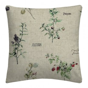 Clarke and Clarke Countryside WildBerries Linen Cushion Covers