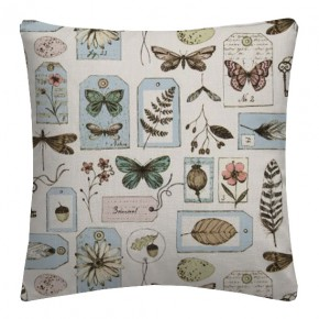 Clarke and Clarke Sketchbook Wildlife Mineral Cushion Covers