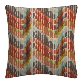 Clarke and Clarke Cariba Windjammer Spice Cushion Covers
