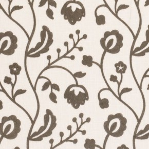 Clarke and Clarke Kashmir Raja Grey Curtain Fabric