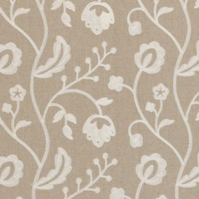 Clarke and Clarke Kashmir Raja Natural Made to Measure Curtains