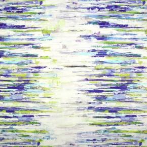 Printworks Reflections Indigo Curtain Fabric