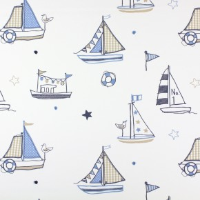 Prestigious Textiles Be Happy Regatta Denim Made to Measure Curtains