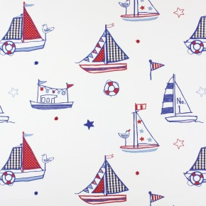 Prestigious Textiles Be Happy Regatta Marine Roman Blind