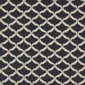 Clarke and Clarke Imperiale Reggio Ebony Curtain Fabric