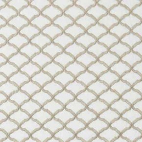 Clarke and Clarke Imperiale Reggio Ivory Curtain Fabric