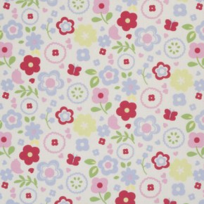Clarke and Clarke Vintage Classics Retro Floral Chintz Made to Measure Curtains