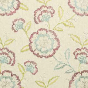 Clarke and Clarke Richmond Richmond RaspberryDuckegg Curtain Fabric