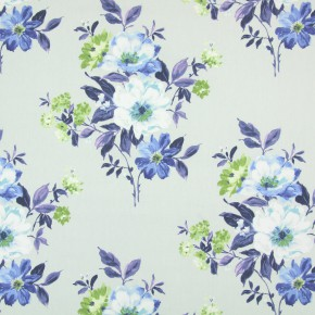 Italian Gardens Rosabella Cobalt Made to Measure Curtains