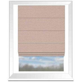 Clarke and Clarke Nantucket Rose Roman Blind