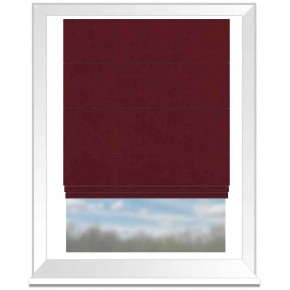 Clarke and Clarke Altea Rosewood Roman Blind