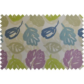 Zest Rowan Hyacinth Curtain Fabric