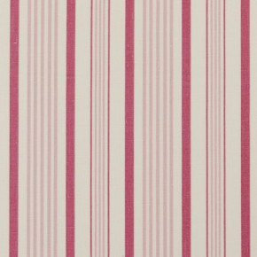 Clarke and Clarke Clarisse Sable Raspberry Curtain Fabric
