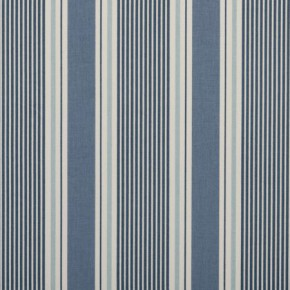 Clarke and Clarke Maritime Prints Sail Stripe Cloud Curtain Fabric