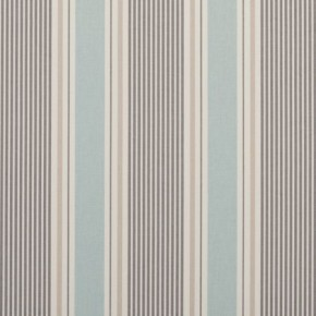 Clarke and Clarke Maritime Prints Sail Stripe Mineral Curtain Fabric